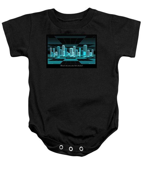 Blessed Is The Nation Baby Onesie
