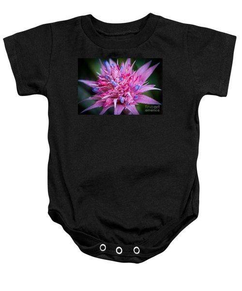 Blooming Bromeliad Baby Onesie