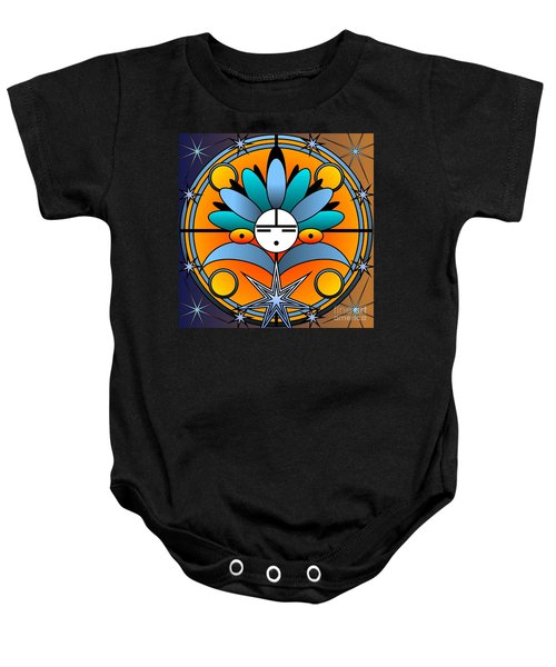 Blue Star Kachina 2012 Baby Onesie