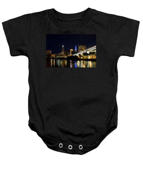 Blues In Cleveland Ohio Baby Onesie
