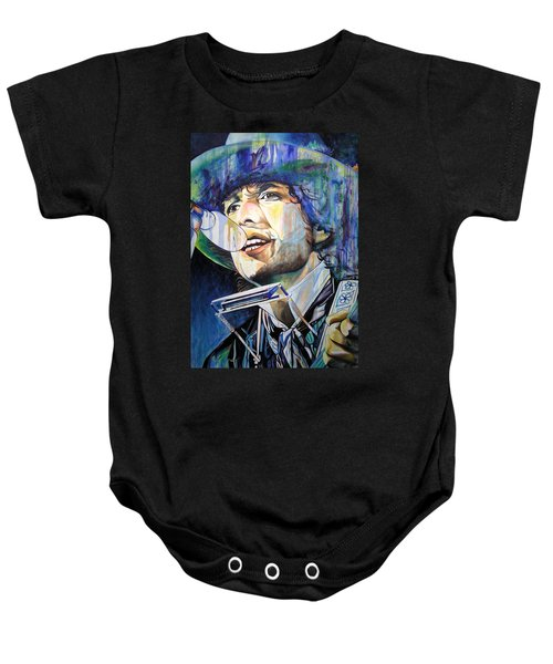 Bob Dylan Tangled Up In Blue Baby Onesie