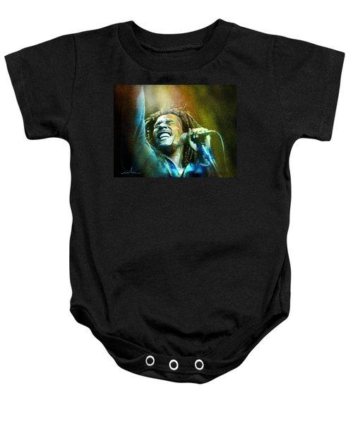 Bob Marley 06 Baby Onesie
