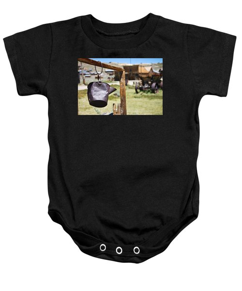 Baby Onesie featuring the photograph Bodie Ghost Town 2 - Old West by Shane Kelly