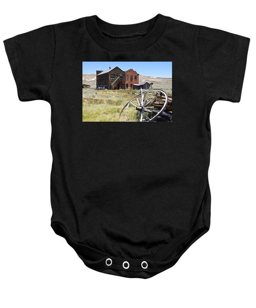Baby Onesie featuring the photograph Bodie Ghost Town 3 - Old West by Shane Kelly