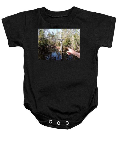 Bogger Woods Baby Onesie