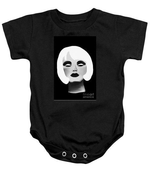 Bold Blonde Beauty Baby Onesie