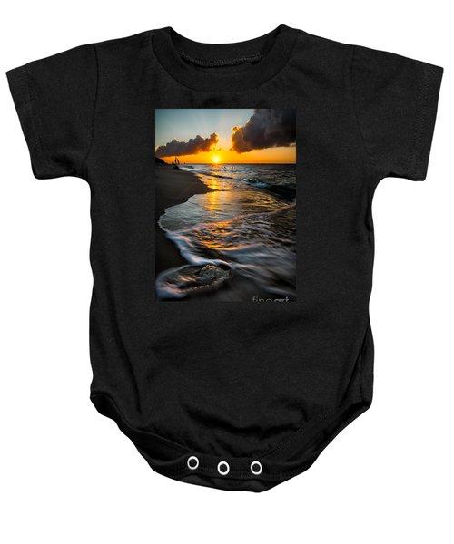Boracay Sunset Baby Onesie