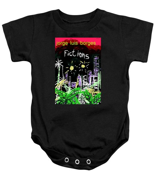 Borges Fictions Poster  Baby Onesie