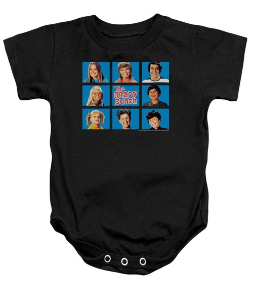 Brady Bunch - Framed Baby Onesie