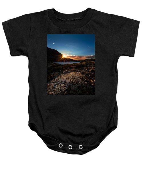 Breathless Sunrise II Baby Onesie