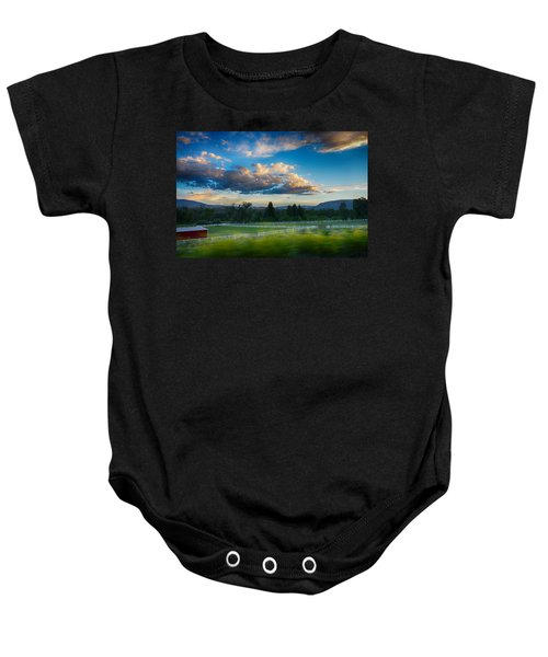 Breathtaking Colorado Sunset 1 Baby Onesie