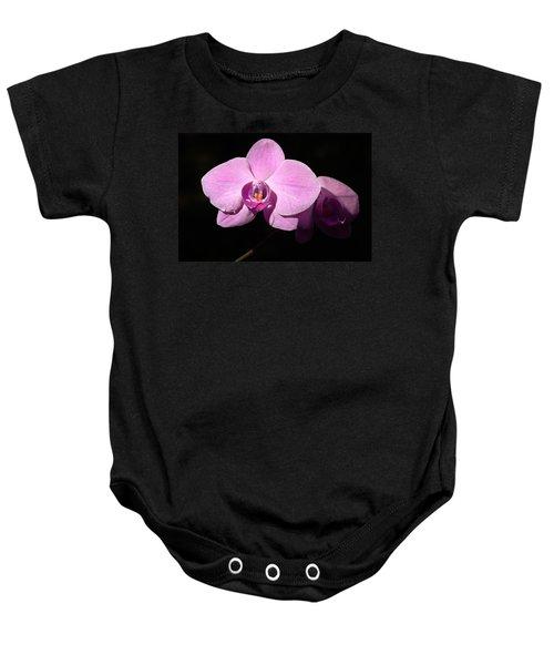 Bright Orchid Baby Onesie