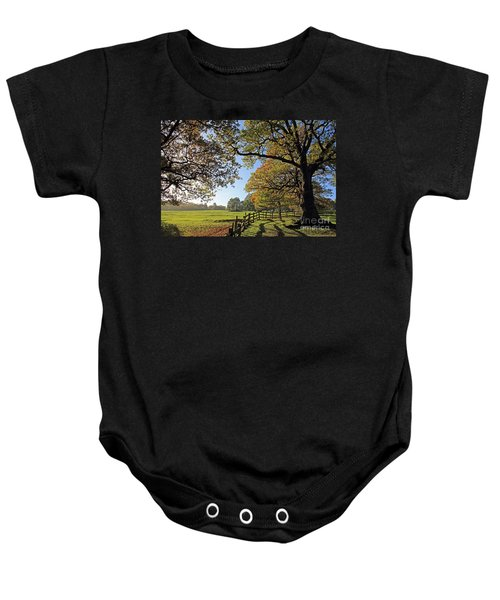 British Autumn Baby Onesie
