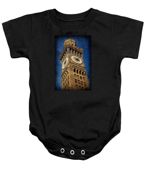 Bromo Seltzer Tower No 3 Baby Onesie