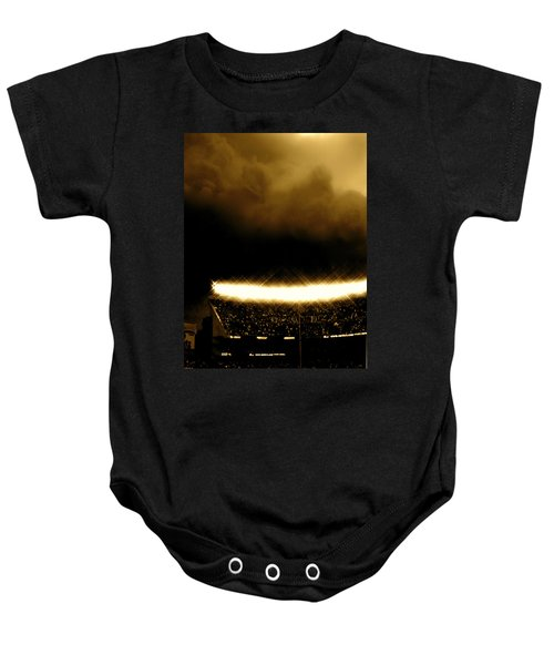 Bronx Storm Yankee Stadium  Baby Onesie