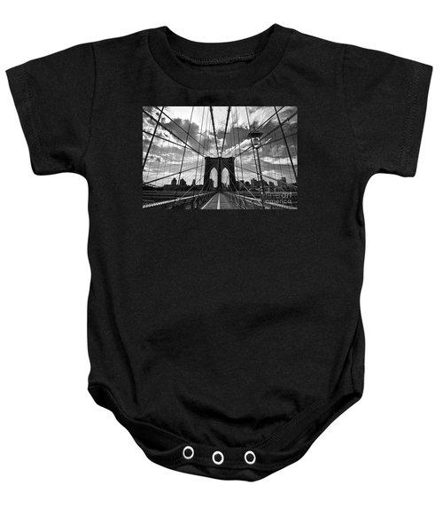 Brooklyn Bridge Baby Onesie