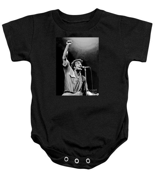 Bruce Springsteen Baby Onesie by Meijering Manupix
