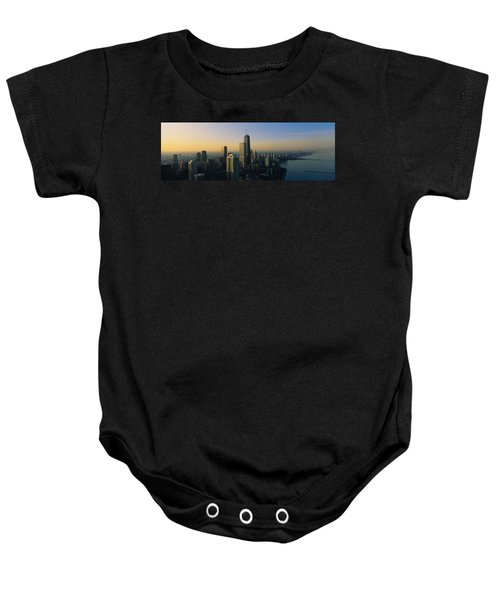 Buildings At The Waterfront, Chicago Baby Onesie by Panoramic Images