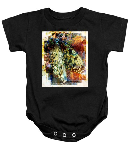 Butterfly 3 Baby Onesie
