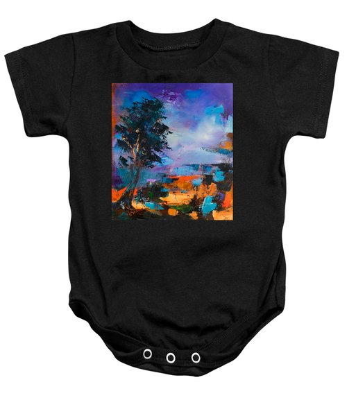 By The Canyon Baby Onesie