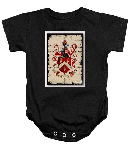 Byrne Coat Of Arms Baby Onesie