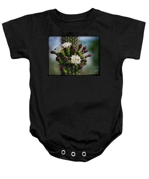 Cacti Bouquet  Baby Onesie