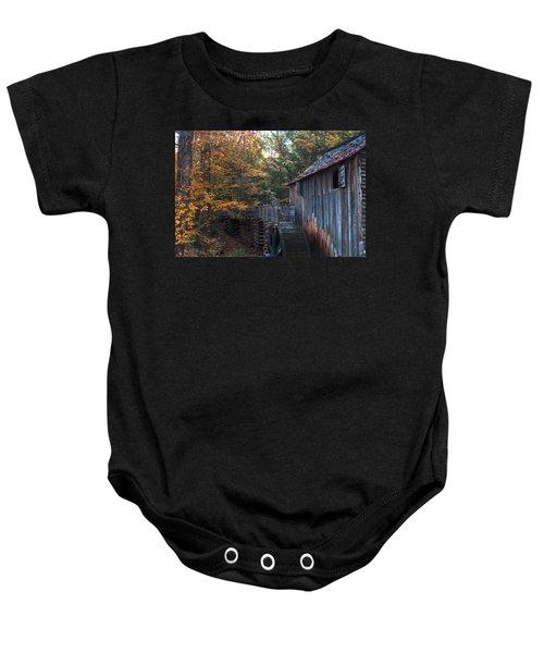 Cades Cove Mill Baby Onesie