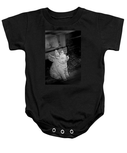 Can A Pig Fly? Baby Onesie