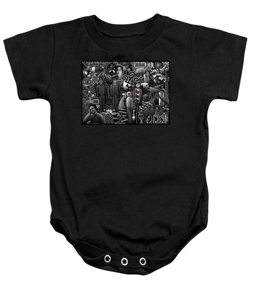 Can 'o' Worms Baby Onesie