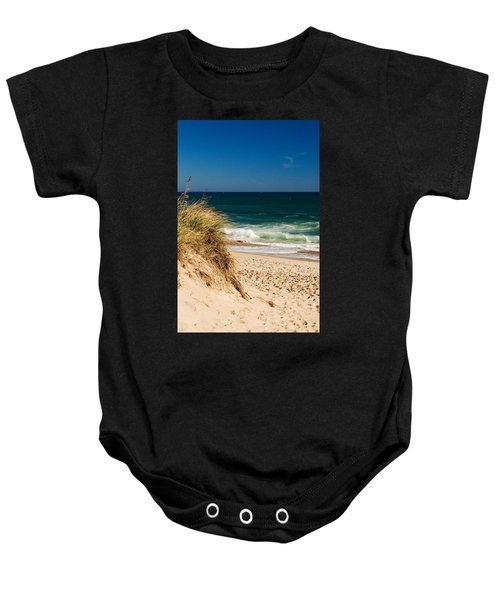 Cape Cod Massachusetts Beach Baby Onesie