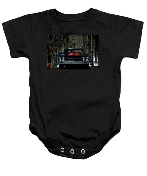 Car Art Chevy Chevelle Ss Hdr Baby Onesie
