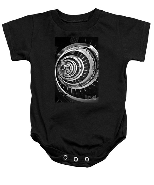 Time Tunnel Spiral Staircase In Sao Paulo Brazil Baby Onesie