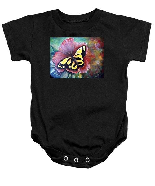 Carnival Butterfly Baby Onesie