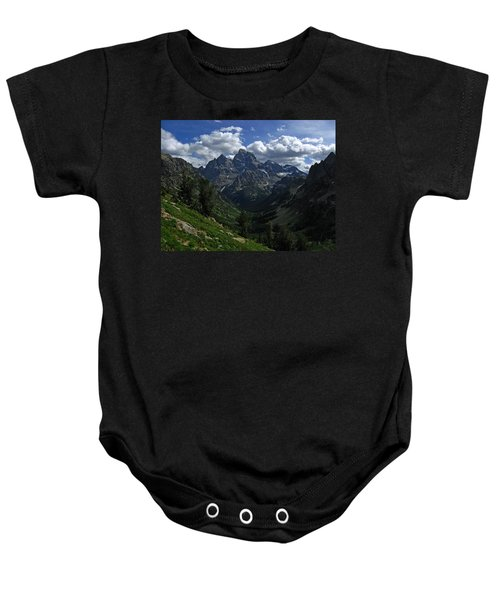 Cascade Canyon North Fork Baby Onesie