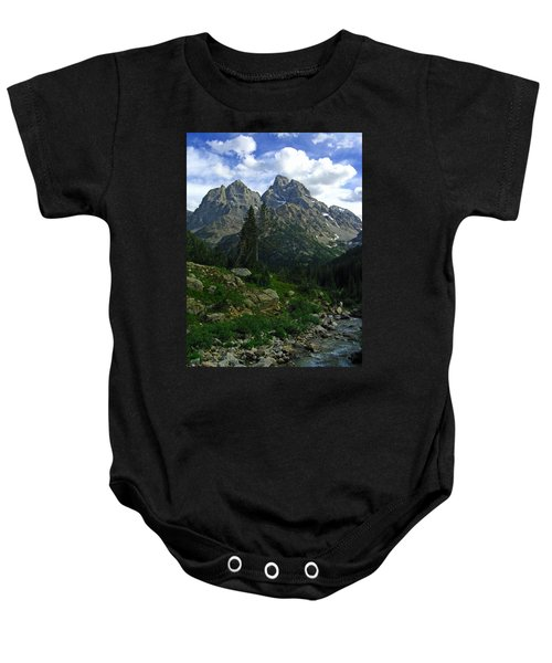 Cascade Creek The Grand Mount Owen Baby Onesie