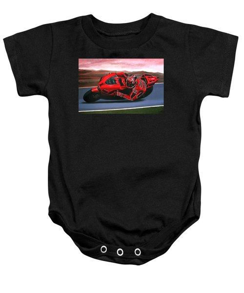 Casey Stoner On Ducati Baby Onesie