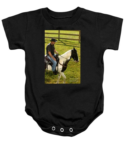 Casual Ride Baby Onesie