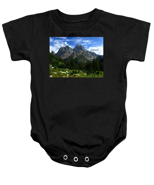 Cathedral Group From The Northwest Baby Onesie