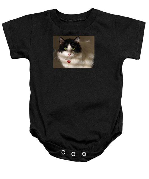 Cat's Eye Baby Onesie