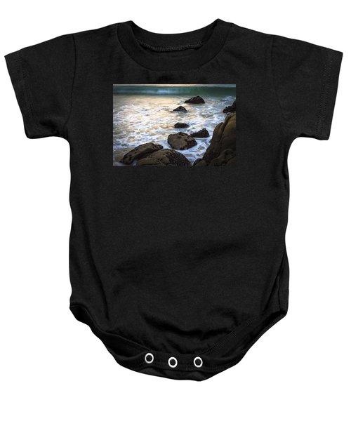 Chanteiro Beach Galicia Spain Baby Onesie