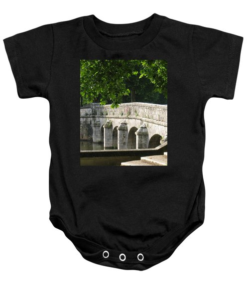 Chateau Chambord Bridge Baby Onesie