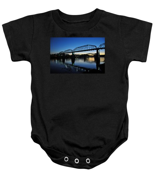 Tennessee River Bridges Chattanooga Baby Onesie