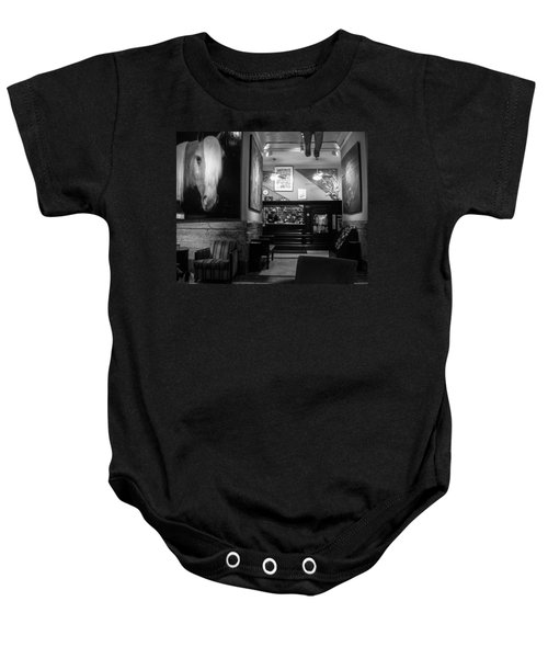 Chelsea Hotel Night Clerk Baby Onesie