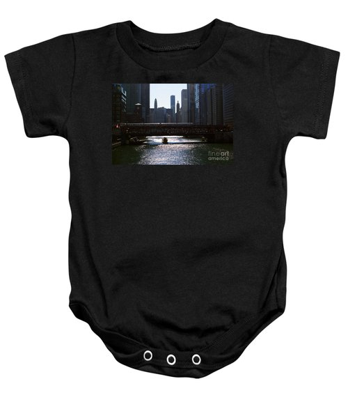 Chicago Morning Commute Baby Onesie