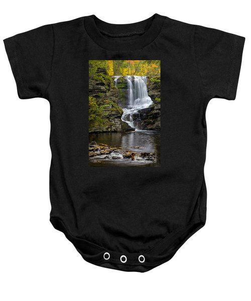 Childs Park Waterfall Baby Onesie