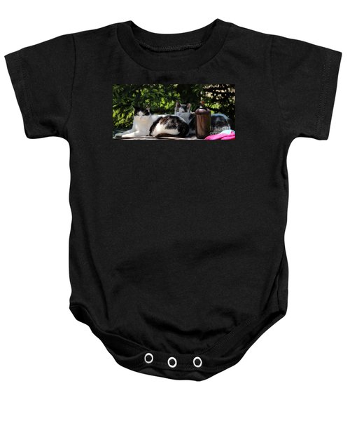 Chillin' Brothers Baby Onesie