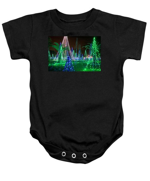Christmas Lights 2 Baby Onesie