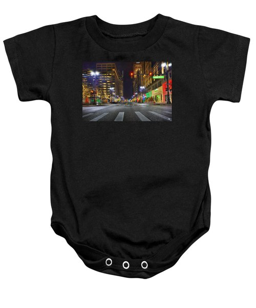 Christmas On Woodward Baby Onesie