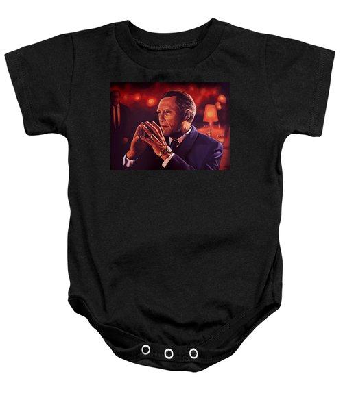 Christopher Walken Painting Baby Onesie