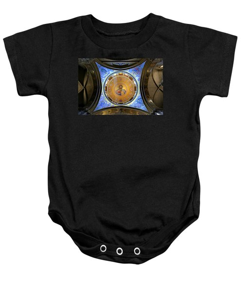 Church Of The Holy Sepulchre Catholicon Baby Onesie